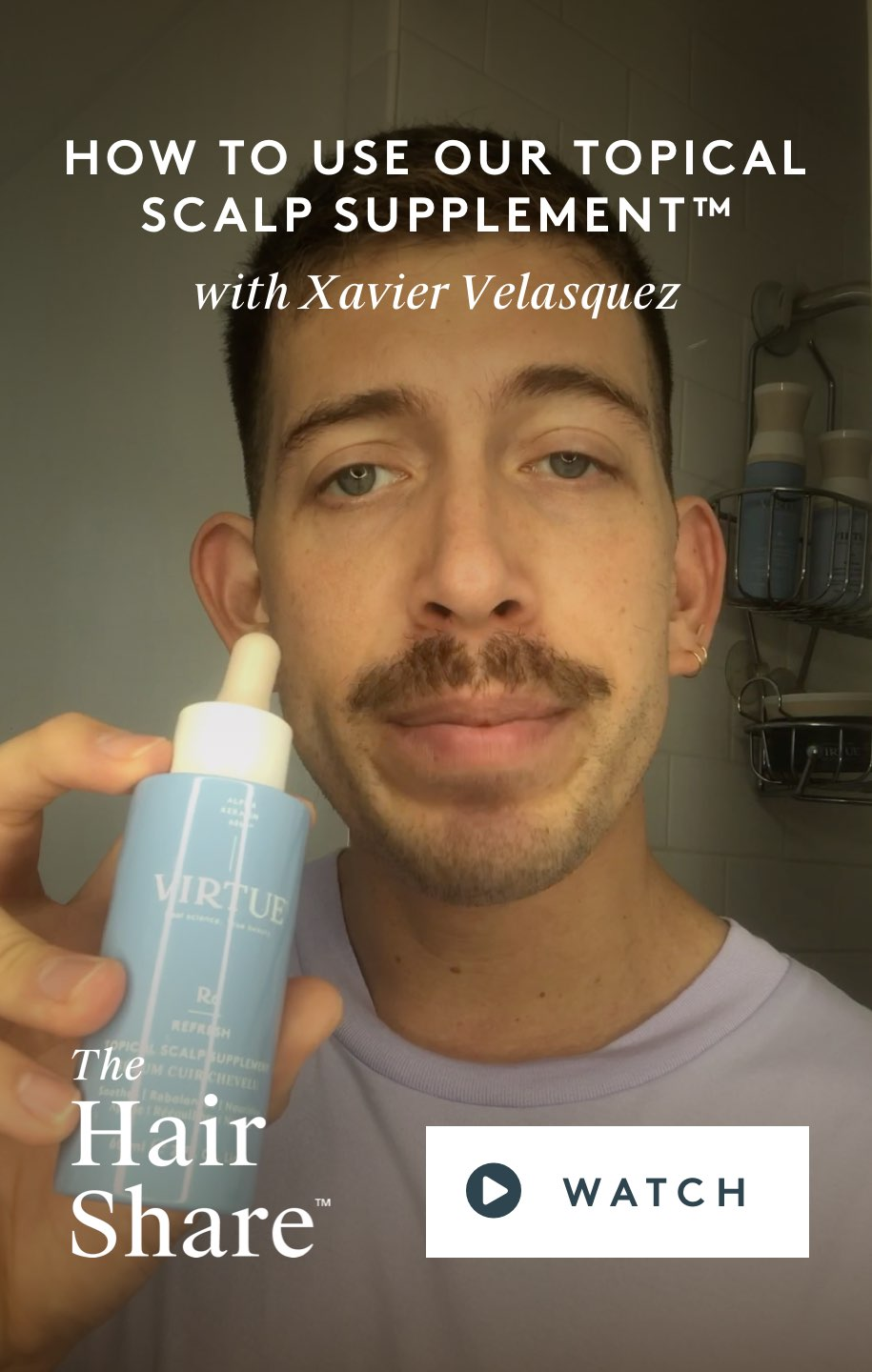 How To Use Our Topical Scalp Supplement™ With Xavier Velasquez