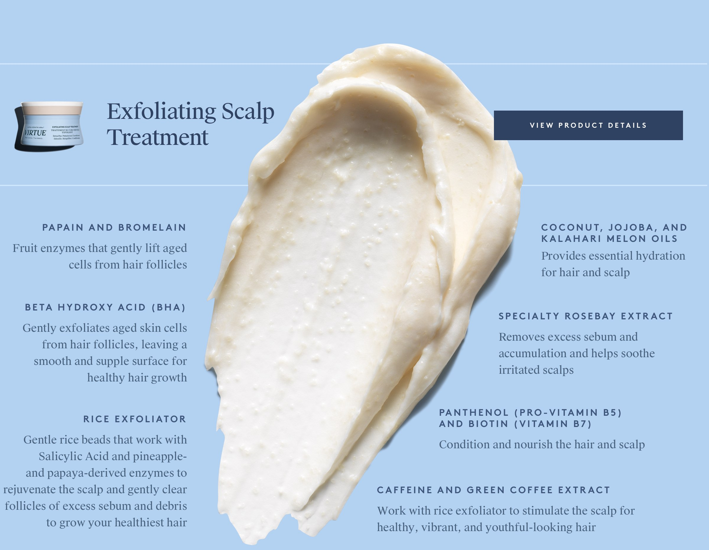 Exfoliating Scalp Treatment Ingredients