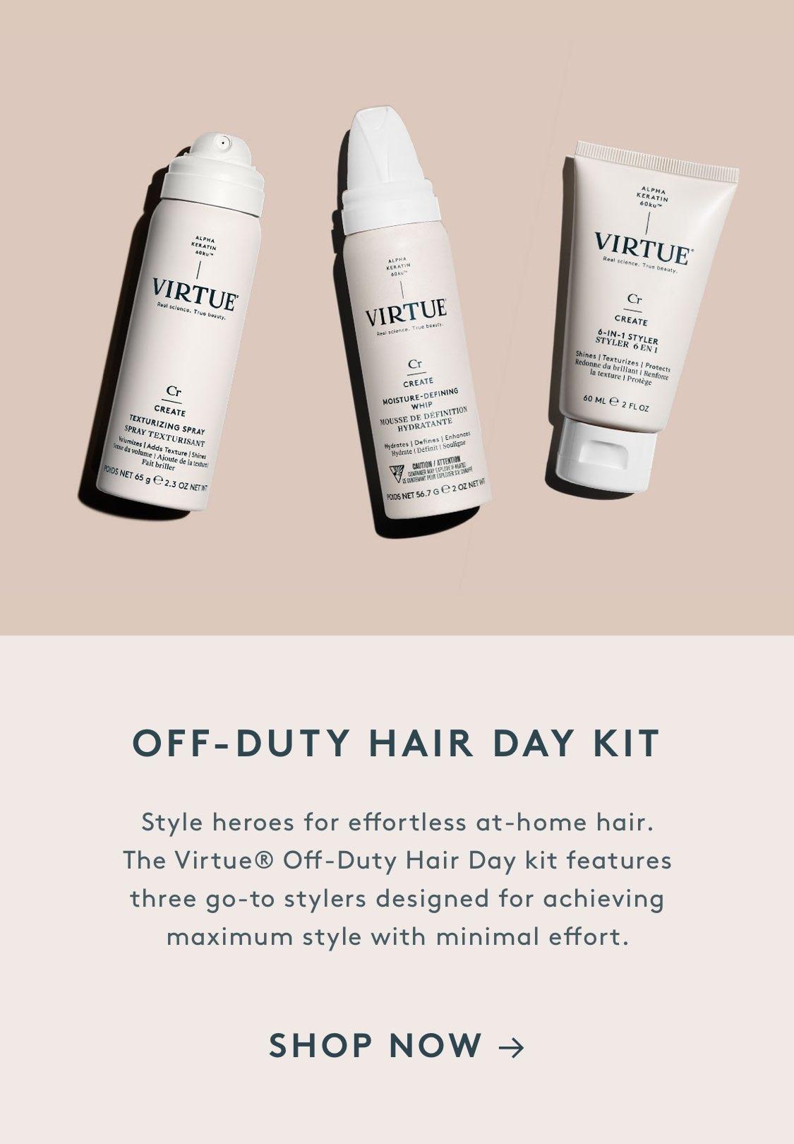 Off-Duty Hair Day Kit