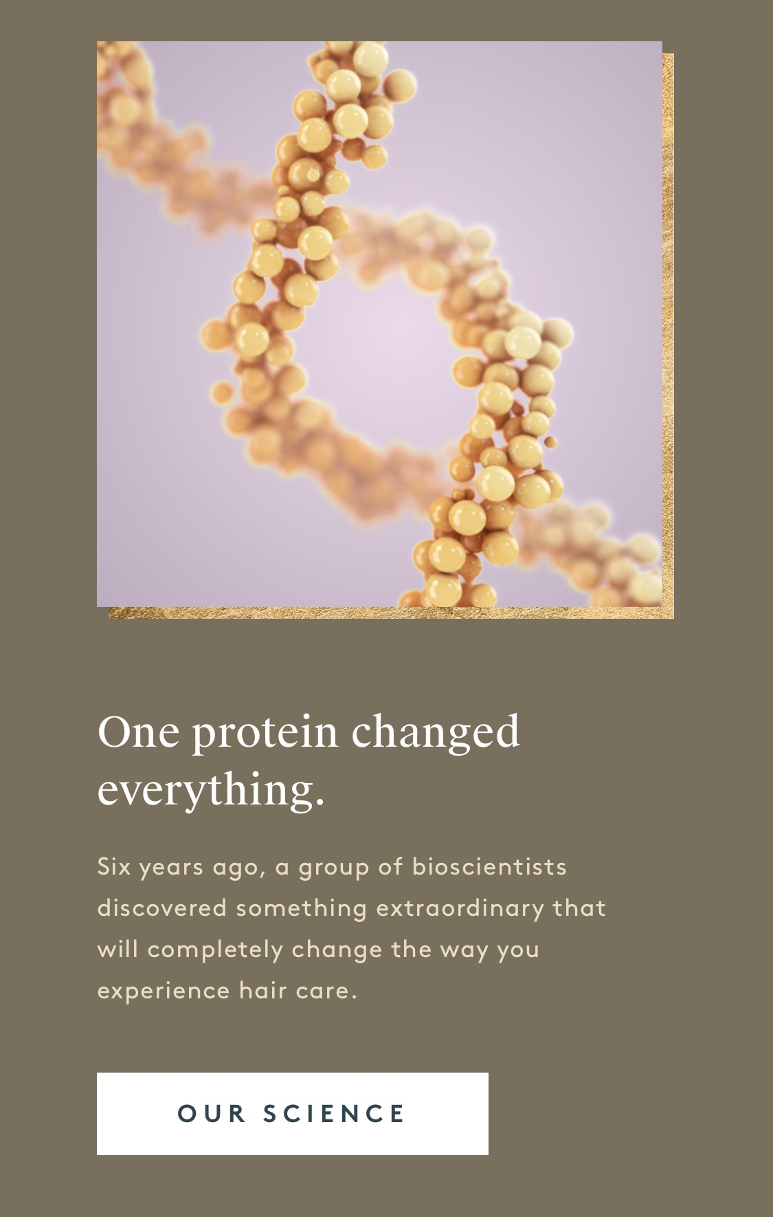 One protein changed everything.