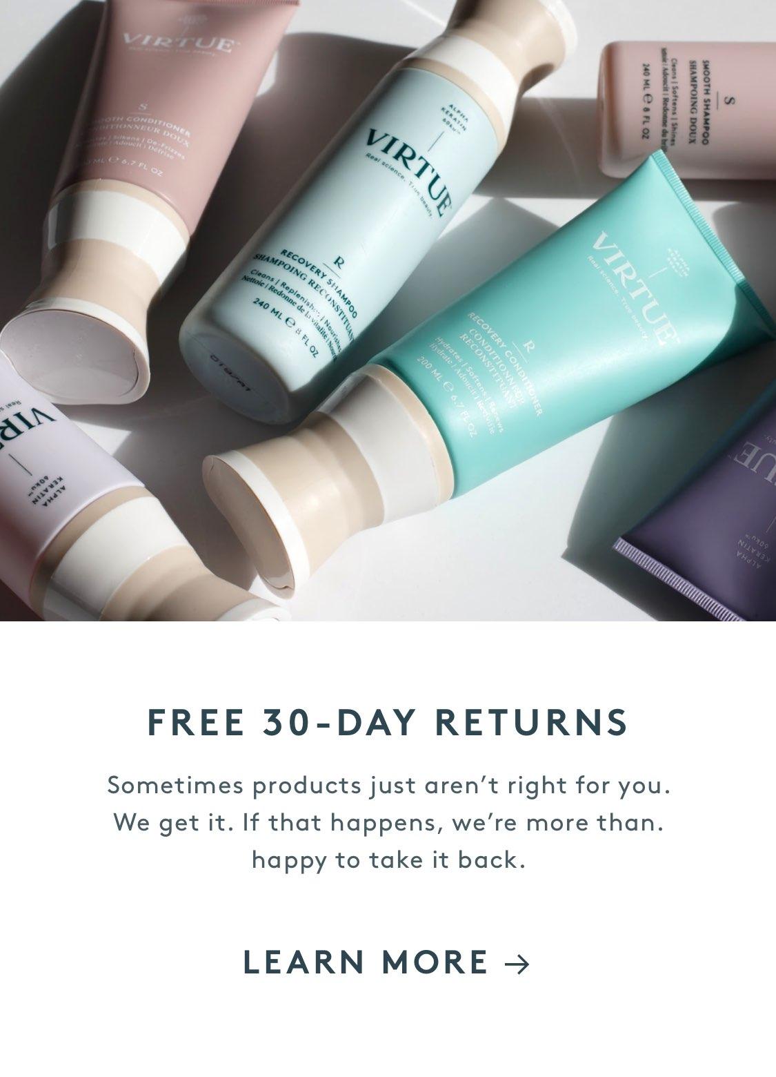 Free 30-Day Returns