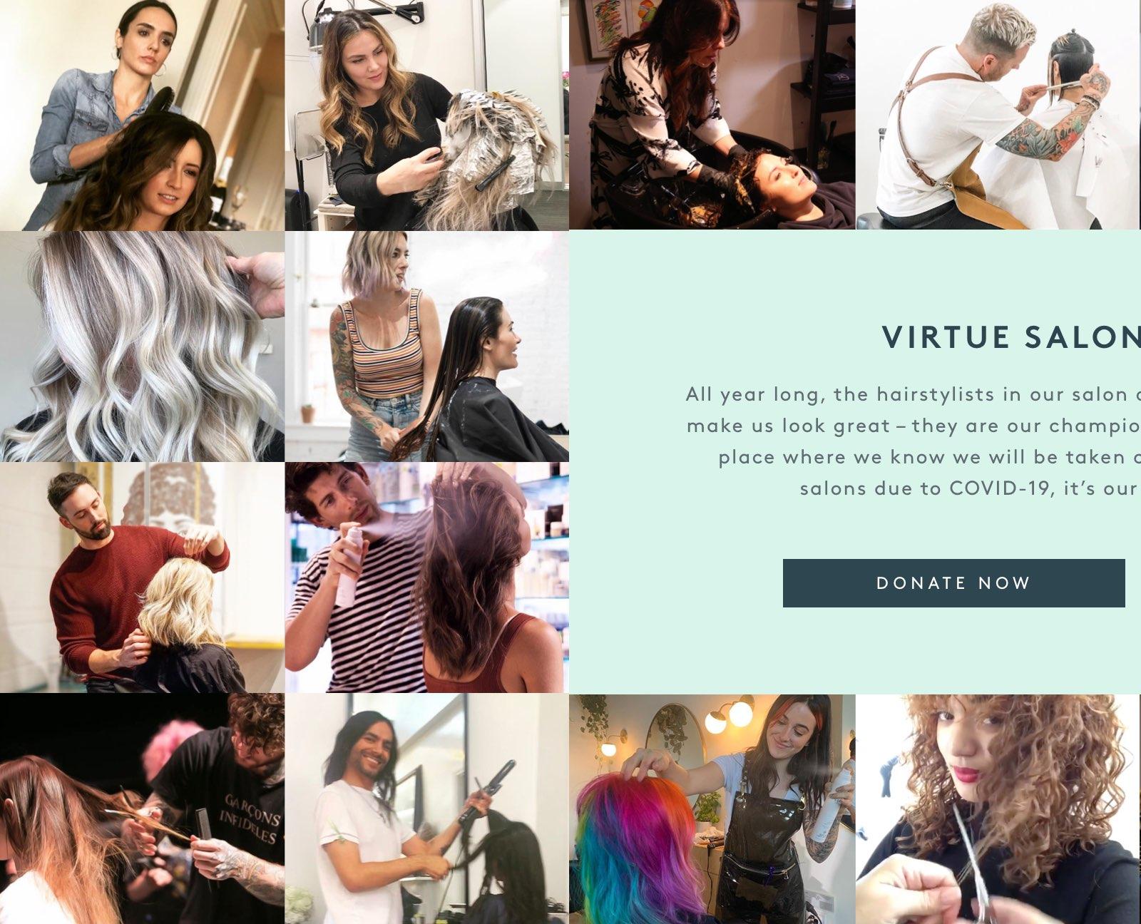 Virtue Salon Relief Fund