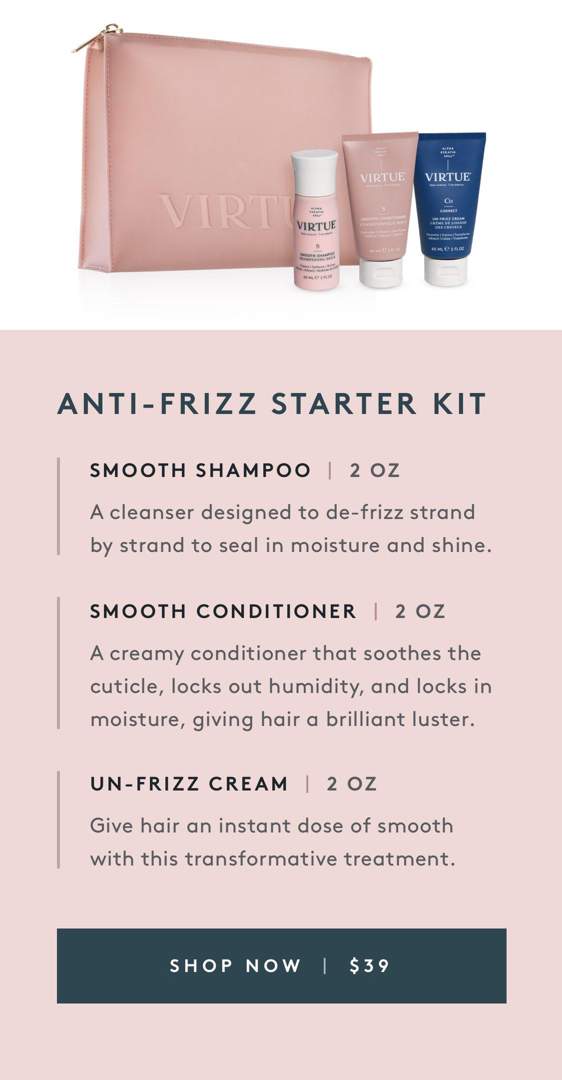 Anti-Frizz Starter Kit